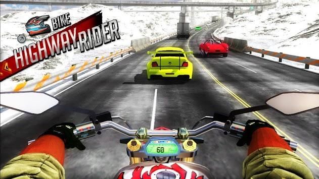 Bike Highway Rider pc screenshot 1