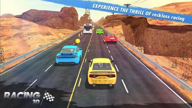 Racing 3D - Extreme Car Race pc screenshot 2