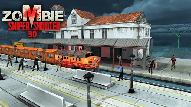 Zombie Sniper Shooting 3D pc screenshot 1