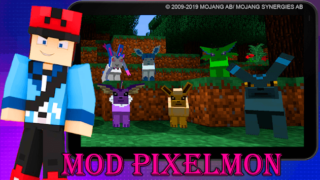 Mod Pixelmon 2019 pc screenshot 1