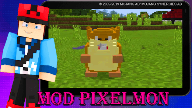 Mod Pixelmon 2019 pc screenshot 2