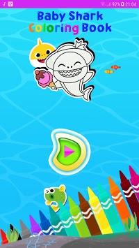 Baby Shark coloring book pc screenshot 1