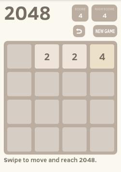 2048 Original Game pc screenshot 1