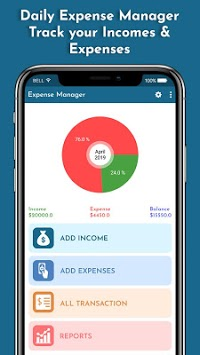 Expense Manager - Track your Expense pc screenshot 2