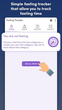 Fasting Tracker - Track your fast pc screenshot 2
