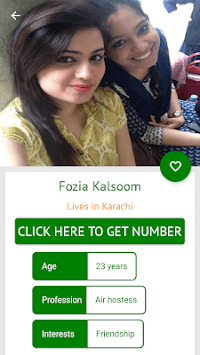 Pakistani Girls Mobile Numbers pc screenshot 2