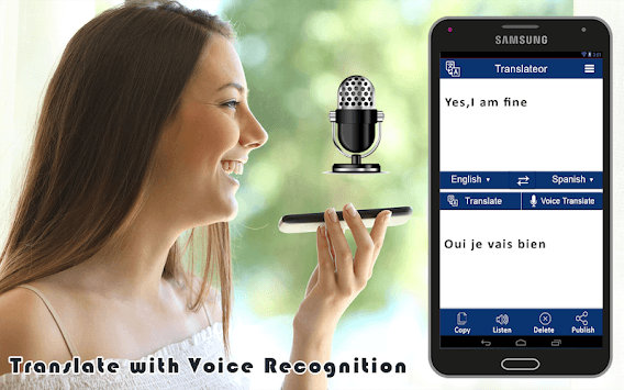 All Languages Translator - Free Voice Translation pc screenshot 1
