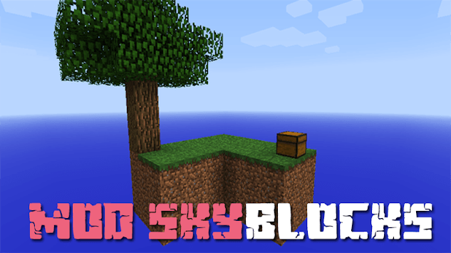 SkyBlock Map for MCPE pc screenshot 1
