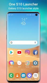 One S10 Launcher - Galaxy S10 Launcher UI theme pc screenshot 1