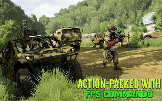Modern FPS Jungle Combat Strike: FPS Shooting Game pc screenshot 2