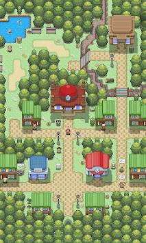 wallpaper: pixel pokemon village pc screenshot 1
