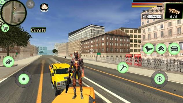 Super Flame Ninja Hero - Strange Gangster Vegas pc screenshot 1