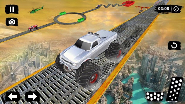 Monster Truck Driving Stunts: Impossible Tracks 19 pc screenshot 1