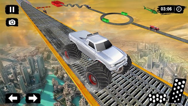 Monster Truck Driving Stunts: Impossible Tracks 19 pc screenshot 2