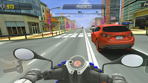 Motor Simulator On Extreme Race pc screenshot 1