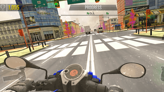 Motor Simulator On Extreme Race pc screenshot 2