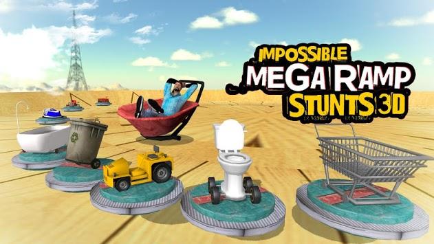 Impossible Mega Ramp Stunts 3D pc screenshot 2