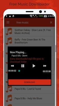 Free Music Downloader - Mp3 Download pc screenshot 1