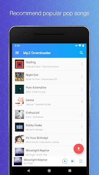 Download Mp3 Music - Unlimited Free Music Download pc screenshot 1