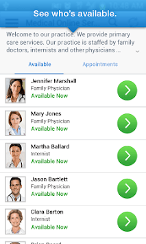 myVisitNow - MVP Health Care pc screenshot 2