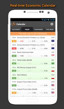 Forex Calendar, Market & News pc screenshot 1