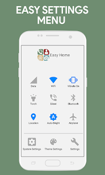 Simplified Home Screen - Launcher and Easy Icons pc screenshot 2