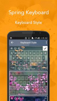 Spring Keyboard pc screenshot 1