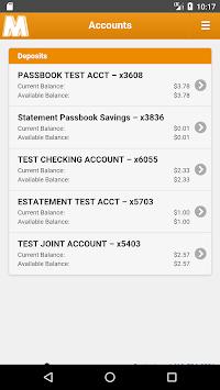 Mechanics Bank - Mobile Banking pc screenshot 1