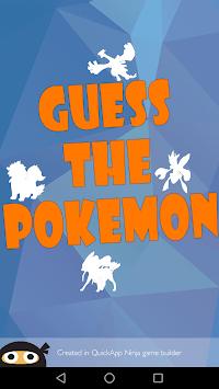 Guess The Pokemon Name - Shadow Quiz pc screenshot 1