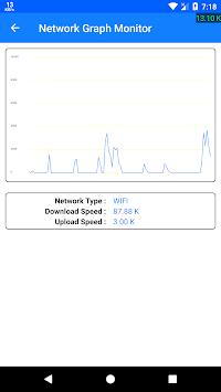 Live Internet Speed Monitor pc screenshot 1