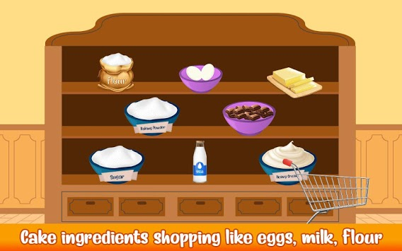 Cake Bakery Shop - Sweet Cooking, Color by Number pc screenshot 1