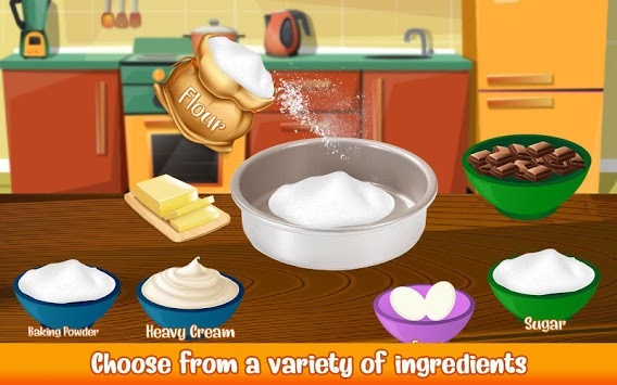 Cake Bakery Shop - Sweet Cooking, Color by Number pc screenshot 2