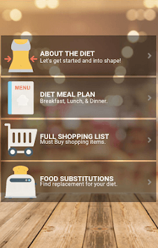 Super Military Diet : 3 Day Diet Weightloss Plan pc screenshot 1