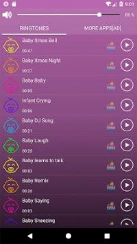 Baby Sounds Ringtones pc screenshot 2