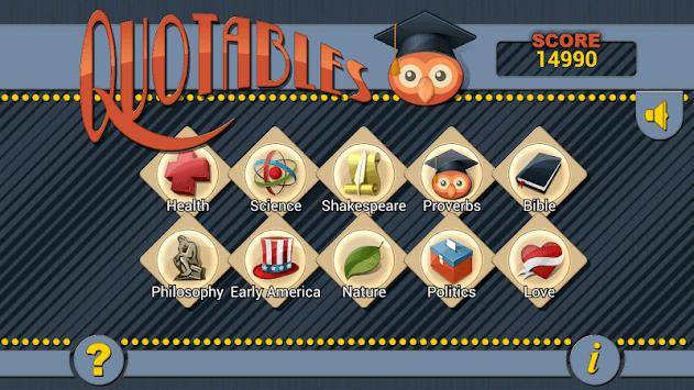 Quotables - word scramble game pc screenshot 1