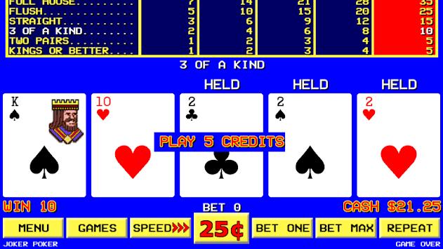 Sin City Video Poker pc screenshot 1