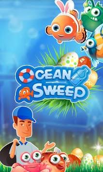 Ocean Sweep: A Fun Match 3 Game for Ocean Cleanup. pc screenshot 1