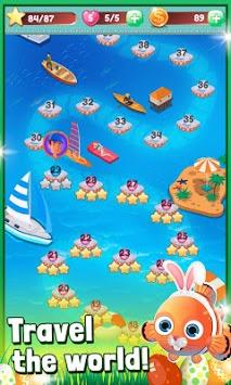 Ocean Sweep: A Fun Match 3 Game for Ocean Cleanup. pc screenshot 2