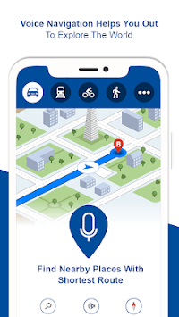 Offline Maps &Navigation: GPS Route Finder 2019 pc screenshot 1