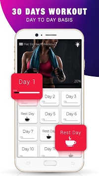 Lose Belly Fat Workout - Burn Belly Fat in 30 Days pc screenshot 1