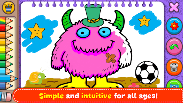 Monsters - Coloring Book & Games for Kids pc screenshot 2