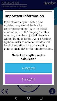 Dexdor Dosing Calculator pc screenshot 1