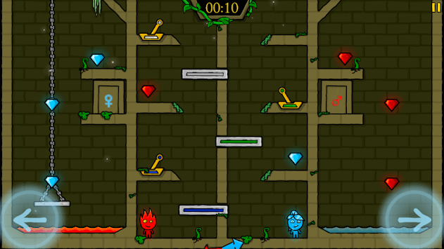 Fireboy & Watergirl in The Forest Temple pc screenshot 2