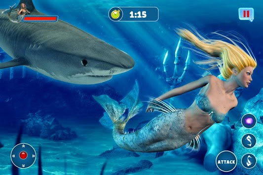 Mermaid Simulator: Underwater & Beach Adventure pc screenshot 1