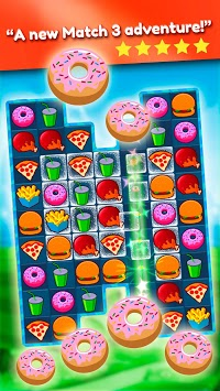 Crush The Burger ! Deluxe Match 3 Game pc screenshot 1