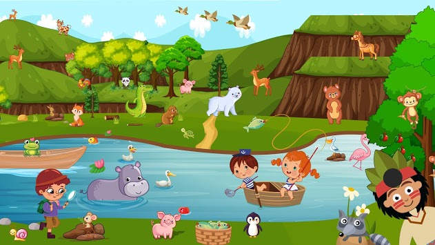 Pretend Forest Life: Explore Wilderness Games pc screenshot 2
