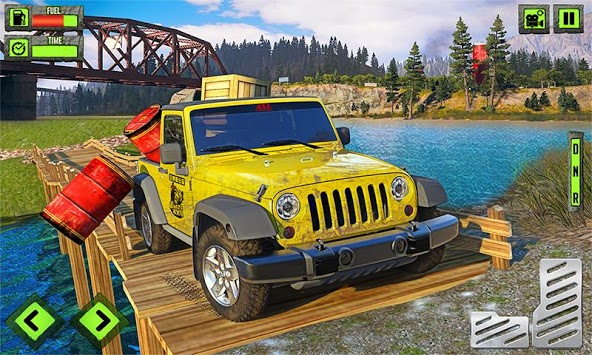 Offroad Jeep Adventure : Car Driving Games pc screenshot 1