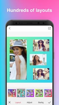 Beauty Collage Maker - Photo Collage PicGrid pc screenshot 1
