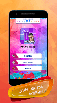 Bad Bunny - Piano Tiles Song pc screenshot 2