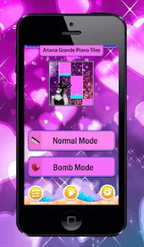 ARIANA Grande Piano Tiles Tap pc screenshot 2